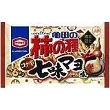 亀田製菓 亀田の柿の種 コク辛七味マヨ味6袋詰 182g×6袋