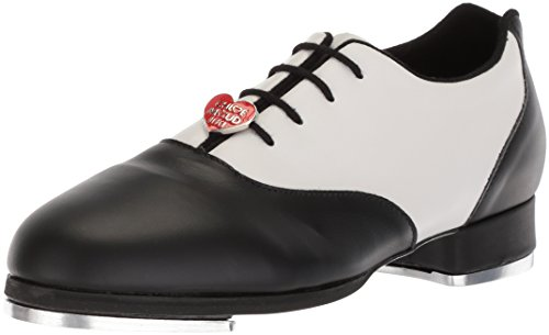Bloch Dance Women's Chloé and Maud Dance Shoe, Black/White, 7.5 Medium US