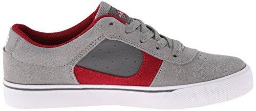 DC Shoes DC Shoes - Schuhe - COLE PRO YOUTH SHOE - D0303323B-BLRD - black D0303323B - Zapatillas de skate de cuero para niño grey/grey/grey