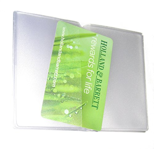 Portrait Insert 6 Card Credit Replacement Card Sleeves for 10 Cards Purse Wallet card portrait POnfn7x
