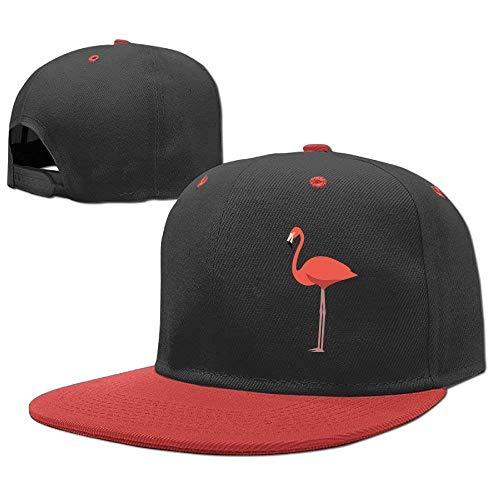 RGFJJE Gorras béisbol Baseball Caps Hip Hop Hat A Flamingos Boys-Girl