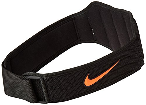 Nike Structured Training Belt 2.0 ,X Large(Black/Total Crimson)