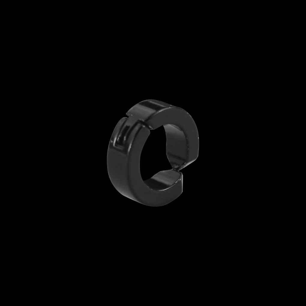 a168f95ef420 Providethebest 1x hombre aro magnético de titanio inoxidable clip de oreja  Sin Oreja Piercing agujero pendiente falso negro 4   9mm  Amazon.es  Hogar
