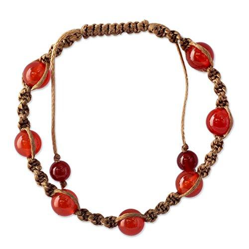 Novica Chalcedony Bracelets - 3