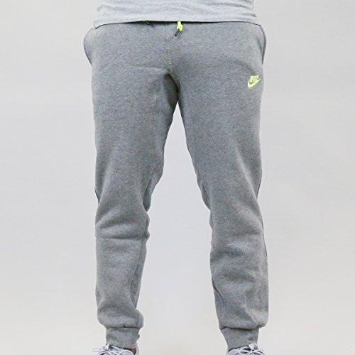 Nike AW77 Futura Cuff Fleece Pants (Small, Grey)