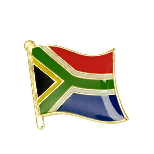 Anstecknadel S/üdafrika-Flagge aus Metall