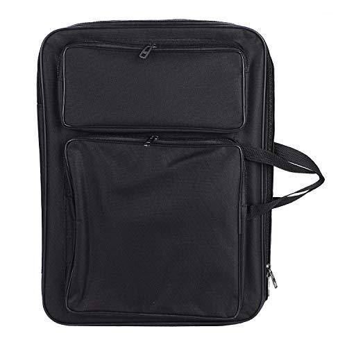 Water-Resistant Art Portfolio Carry Case Bag Backpack 20
