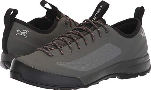 Arc'teryx Acrux SL Approach Shoes - Women's Titan/Lamium Pink 7.5