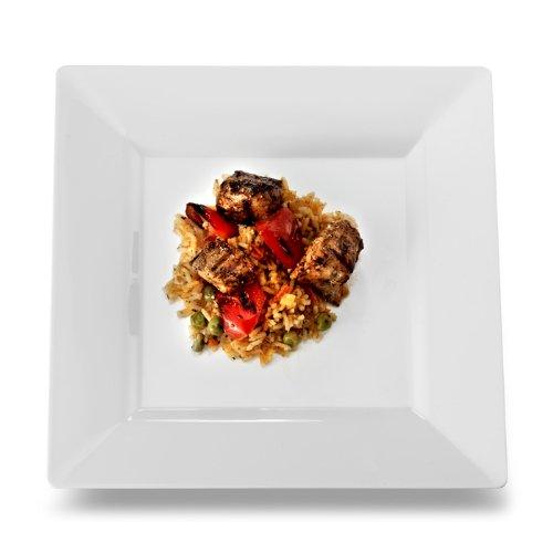 White Dinner Plates Bulk: Amazon.com