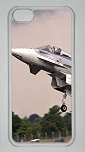 MMZ DIY PHONE CASEiphone 6 4.7 inch PC Hard Shell Case Aircraft Taking Off Transparent Skin by Sallylotus
