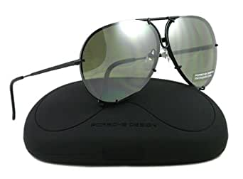 Amazon.com: PORSCHE SUNGLASSES P 8478 D BLACK P8478