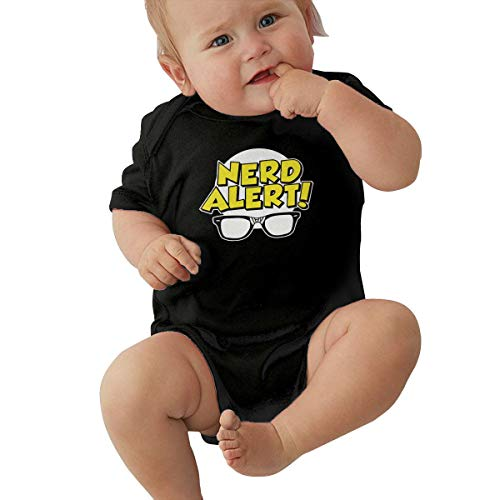 Nerd Alert Girls Costumes - Nerd Alert Baby Girls' Comfortable Cotton
