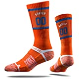 NBA New York Knicks Strideline Player Crew Socks , Ernes Kanter , Ernes Kanter