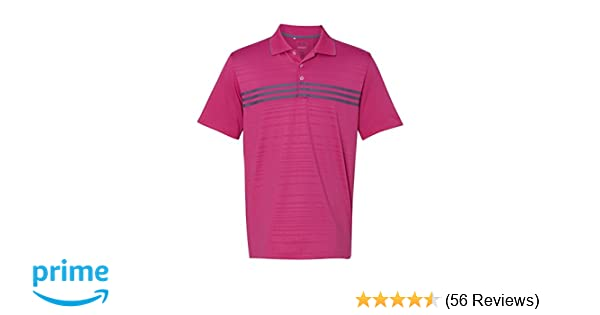 b47116460321b adidas Golf Men's Climachill Gradient 3-Stripes Polo