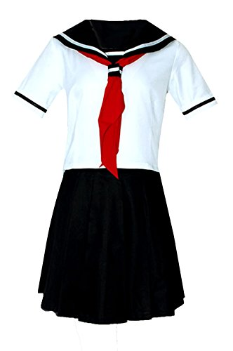 ZYHCOS Schoolgirls Sailor Suit Cosplay Costume Uniform