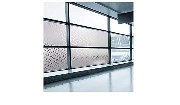 MILASIA Película de protección electrostática con Ventana de Vidrio Esmerilado Ventana de Vidrio Oficina en casa baño habitación Cocina (ángulo Cuadrado) (90 * 400 cm): Amazon.es: Hogar