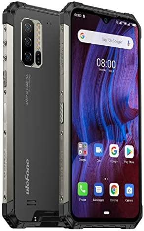"""Ulefone Armor 7E Rugged Smartphone Unlocked, IP68 Waterproof Cell Phones Helio P90 Android 10 4GB + 128GB, 48MP+2MP+2MP Triple Camera, 5500mAh Battery QI Wireless Charge, 6.3"""" FHD+, Global Bands, NFC WeeklyReviewer"""