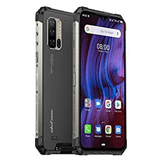 "Ulefone Armor 7E (2020) Rugged Smartphone Unlocked, IP68 Waterproof Cell Phones Helio P90 4GB + 128GB, 48MP + 2MP + 2MP Triple Camera, 5500mAh Battery QI Wireless Charge, 6.3"" FHD+, Global Bands, NFC"