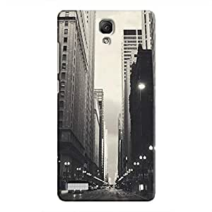 Cover It Up - City Street BW Redmi Note 4G Hard Case