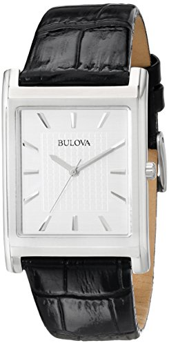 Bulova Men's 96A23 Dress Strap Watch