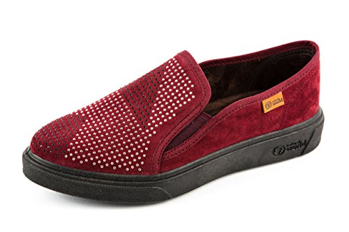 World Red Natural Women's Loafer Flats red Pq80qd