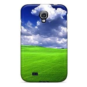 RQJKbHf4059eVnON Green Grass Ip4 Awesome High Quality Galaxy S4 Case Skin