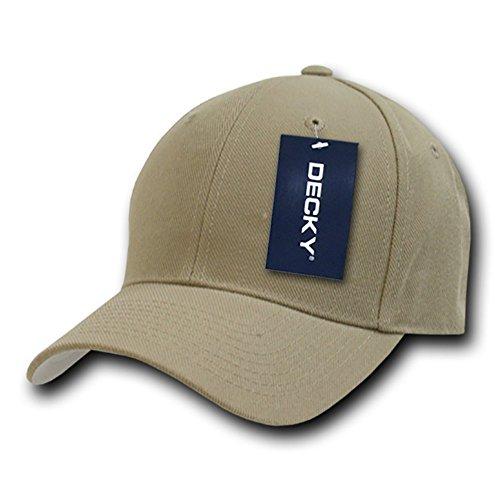 Decky Fitted - Gorra para Hombre caqui