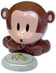 Mini Cute Plastic Monkey Finger Nail Polish Varnish Air Dryer Blower By VAGA