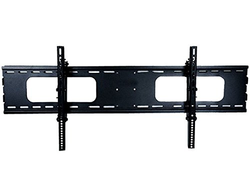 Monoprice Titan Series Extra Wide Tilt Wall Mount for Extra Large 37~70in TVs up to 165 lbs, Black UL Certified (Wide Series)