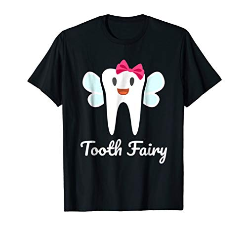 Mens Tooth Fairy Halloween Costume T-Shirt Small