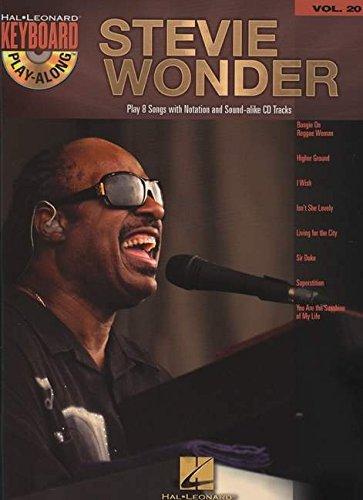 Keyboard Play Along Series - Stevie Wonder: Keyboard Play-Along Volume 20