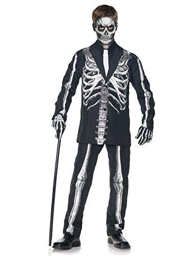 Little BOY'S Skeleton Suit Costume