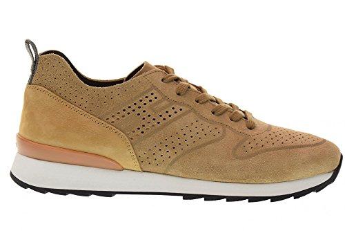 Hogan Scarpe Uomo Sneakers Basse R261 Hxm2610k200ihhc808 Biscotto Medio