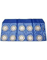 Nologo L-YINGZON Hoja de Sierra, 10pcs 40mm Diamante Muela de Corte Disco con 2 Herramienta de Corte Herramienta rotativa Dremel for Mandriles Fit Metal del Corte Hojas de Sierra Circulares Herrami