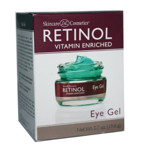 Skincare LdeL Cosmetics Retinol Eye Gel, .7 Ounce Jar
