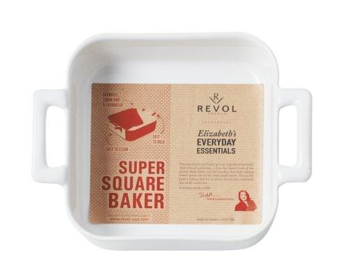 Revol White Porcelain Square Baking Belle Cuisine Elizabeth's Everyday Essentials