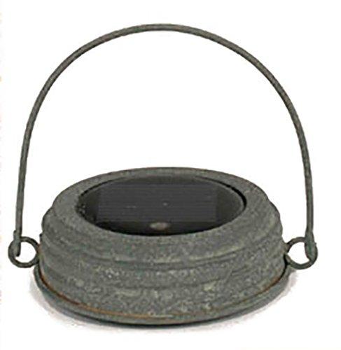 UNASSIGNED Colonial Tin Mason Jar Lid - 1 Solar Powered L...