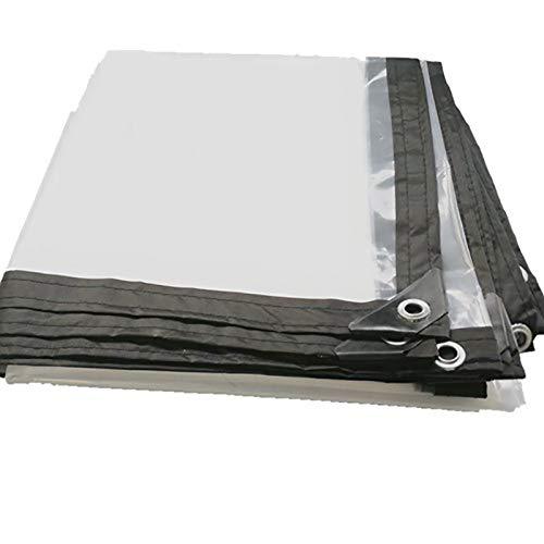3x7m YANG HONG SHOP JL YH BÂche Imperméable Extérieure Transparent Rempli De Tissu D'isolation De BÂche en Plastique Imperméable à l'eau De Tissu 150g   M2 A+ (Taille   3x1m)