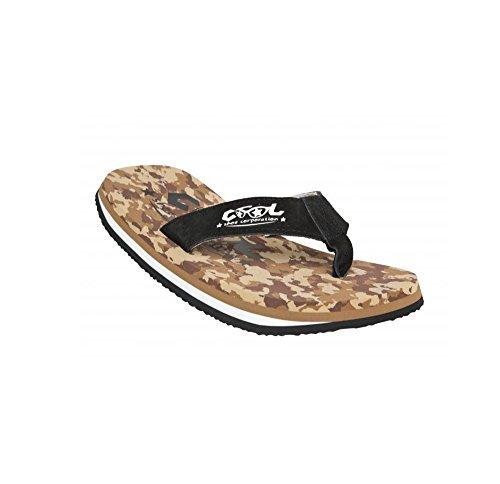 Cool Shoes Original Pi DESERT CAMO LTD , Marrone Mimetiche Infradito Sandali Ciabatte Spiaggia Bagno