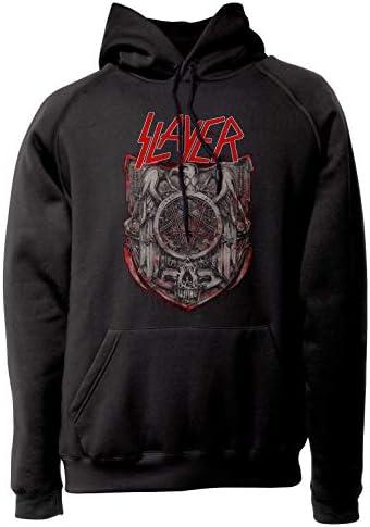 LaMAGLIERIA Sudadera Unisex Slayer S01 Sudadera con Capucha Heavy Metal Rock Band