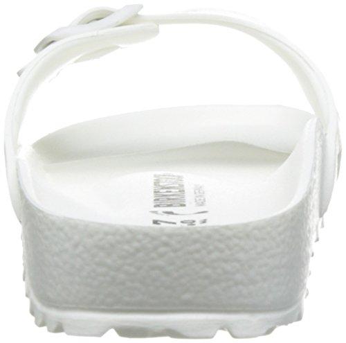 Birkenstock Madrid - Zuecos Mujer Blanco (Blanc)