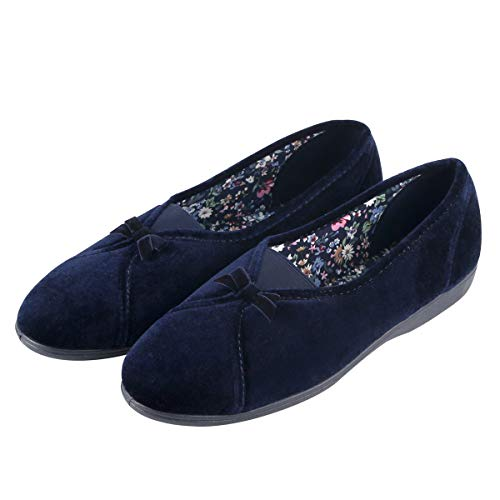 Courtaulds Moccasin Lady's Slippers, Maisie Series, Comfort for Indoors/Driving