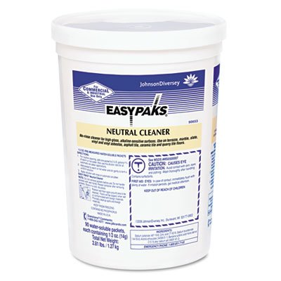 Easy Paks Neutral Cleaner, 0.5 oz Packet, 90/Tub ()