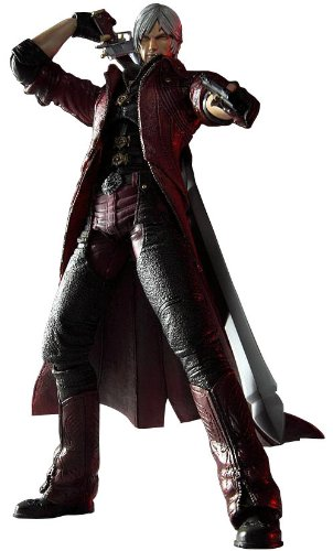 Devil May Cry 4 Dante 27cm Play Arts Kai Figure