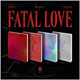 Monsta X Fatal Love 3rd Album Random Version CD+1p Poster+120p PhotoBook+1p Sticker+1p PhotoCard+Message PhotoCard Set…