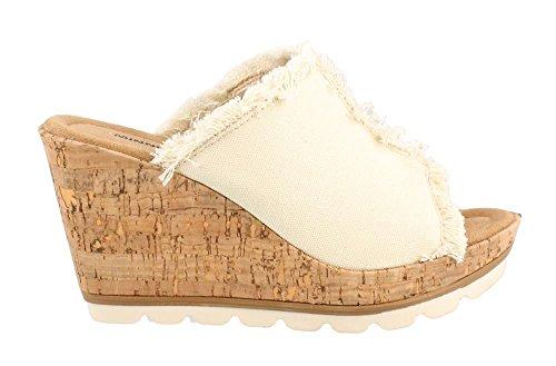 Natural York Sandals Wedge Minnetonka Heel High Women's wHxaYBqS