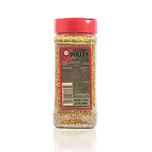 California Raw Bee Pollen 1 Lb / 16 Ounces / 453g Pure 100% Natural Gift Wrapped