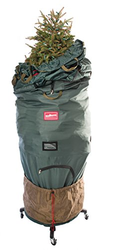 TreeKeeper Pro Upright Tree Storage Bag with Stand, fits 7.5 to 9-Foot Trees by TreeKeeper