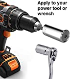 Universal Socket Grip Adapter LEBERNA 4 PCS | Multi