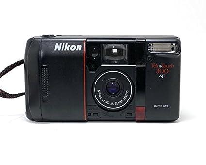 Amazoncom Nikon Tele Touch 300 Af Autofocus 35mm Film Camera W